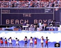 San Francisco Giants, S.F. Giants, photo, Beach Boys